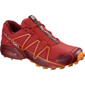 Salomon Speedcross 4 Shoes Men High Risk Red/Red Dahlia/Tangelo